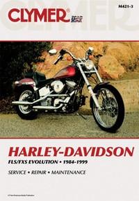 Harley Manual Clymer 84-99 FL/FXSoftail
