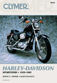 Harley Manual Clymer 59-85 Sportsters