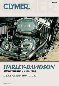 Harley Manual Clymer 66-84 Shovelheads