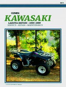 Kawasaki ATV Manual (Clymer)  95-99 KEF300Lakota