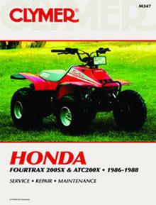 Honda ATV  Manual 86-88 ATC200X/TRX200SX