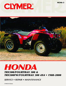 Honda ATV  Manual TRX300FW Foretrax 4X4