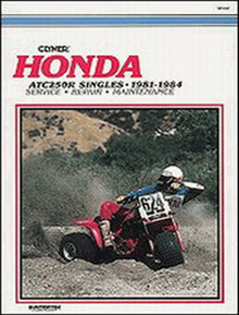 Honda ATV  Manual (Clymer) 81-84 ATC250R