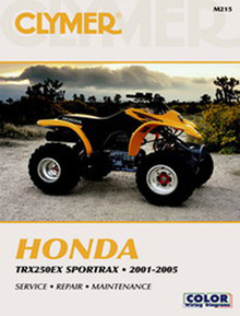 Honda ATV  Manual (Clymer) 01-05 TRX250EX