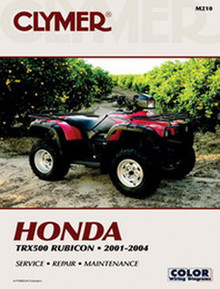 Honda ATV Repair Manual 01-04TRX500 Rubicon