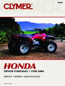 Honda ATV Repair Manual (Clymer)98-04TRX450