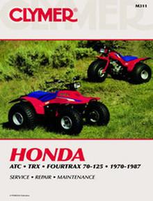 Honda ATV Repair Manual (Clymer)ATC70/TRX70/125