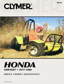 Honda ATV  Manual (Clymer) 77-84 FL250 Odyssey