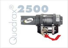 ATV Winch Quadrax 2500LB.40ft 7/32' cable new