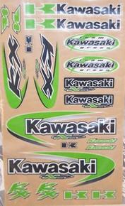 Decal kit  N-Style Kawasaki KX Off-Road New
