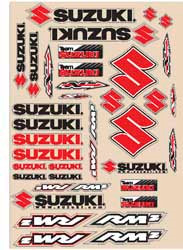 Decal kit N-Style Suzuki RMZ Off-Road New