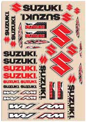 Decal kit N-Style Suzuki RM Off-Road New