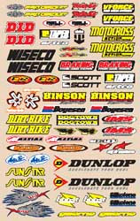 Decal kit N-Style Large Logo Sticker kit Off-Road