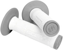 Motorcycle MX Handlebar Grips Scott SXII  White/Grey
