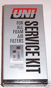 Uni Air filter Service kit for all Foam air filters New