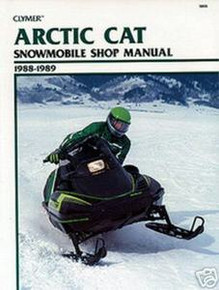 Arctic Cat Repair Manual (Clymer) 88-89 Wildcat/ElTigre