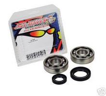 Yamaha 05-14 YZ 125 Crankshaft Bearing & Seal Kit  New All Balls