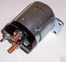Harley Accel Starter solenoid single Bracket Plain New