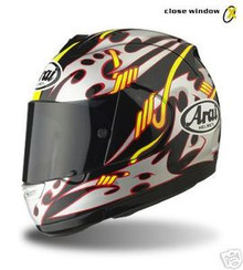Motorcycle Helmet Arai RX7 Corsair Hayden Black X-Large
