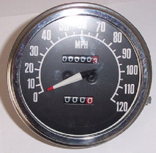 Harley Speedometer 68-79 Big Twins with Fatbob Tanks Replaces OEM# 67004-68C