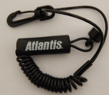 PWC Lanyard Standard floating for SeaDoo Black Atlantis New