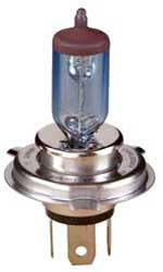 Motorcycle 12Vt Zenon H.light  Bulb Blue  PT43tb base