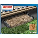 18 in. Wraparound RV Step Rug -  Brown
