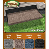 18 in. Outrigger RV Step Rug - Gray
