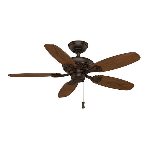"Casablanca 44"" Fordham Brushed Cocoa Ceiling Fan"