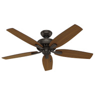 "Hunter 52"" Newsome Premier Bronze Ceiling Fan"