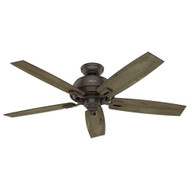 "Hunter 52"" Donegan Onyx Bengal Ceiling Fan"