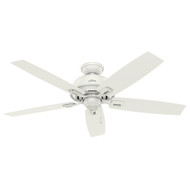 "Hunter 52"" Donegan Fresh White Ceiling Fan"