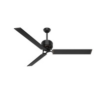 "Hunter 72"" HFC-72 Matte Black Ceiling Fan with Remote"