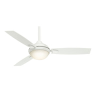 "Casablanca 54"" Verse Fresh White Ceiling Fan with Light and Remote"