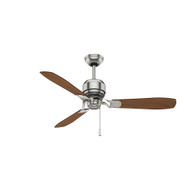 "Casablanca 52"" Tribeca Brushed Nickel Ceiling Fan"