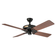 "Hunter 52"" Outdoor Original Black Ceiling Fan 23838"