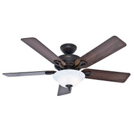"Hunter 52"" Kensington New Bronze Ceiling Fan with Light 53048"