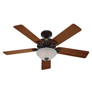 "Hunter 52"" Astoria New Bronze Ceiling Fan with Light 53057"