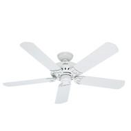 "Hunter 52"" Bridgeport White Ceiling Fan 53125"