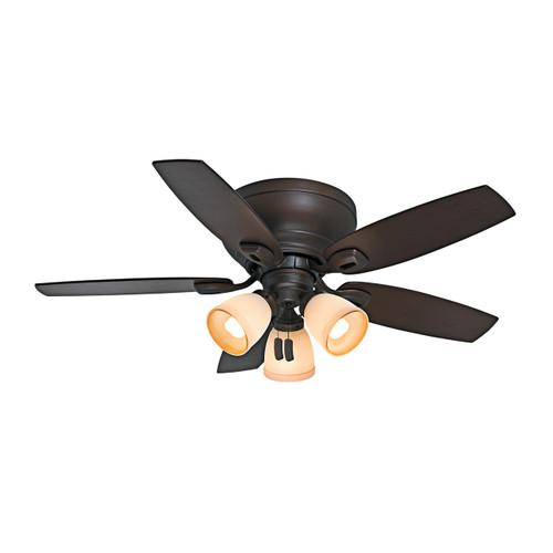 "Casablanca 44"" Durant Maiden Bronze Ceiling Fan with Light"