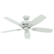 "Hunter 48"" Sea Wind White Ceiling Fan 53350"