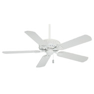 "Casablanca 54"" Ainsworth Cottage White Ceiling Fan"