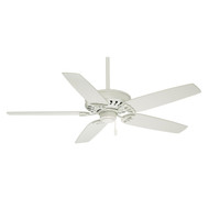"Casablanca 54"" Concentra Snow White Ceiling Fan"