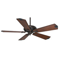 "Casablanca 60"" Fellini Brushed Cocoa Ceiling Fan with Remote"