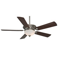 "Casablanca 54"" Whitman Antique Pewter Ceiling Fan with Light and Remote"