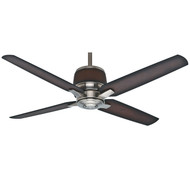 "Casablanca 54"" Aris Brushed Nickel Ceiling Fan with Remote"