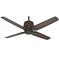 "Casablanca 54"" Aris Brushed Cocoa Ceiling Fan with Remote"