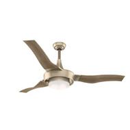 "Casablanca 64"" Perseus Metallic SunSand Ceiling Fan with Light and Remote"