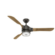 "Hunter 54"" Apache Noble Bronze Ceiling Fan with Light and Remote 59226"