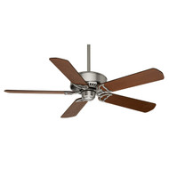 "Casablanca 54"" Panama DC Brushed Nickel Ceiling Fan with Remote"